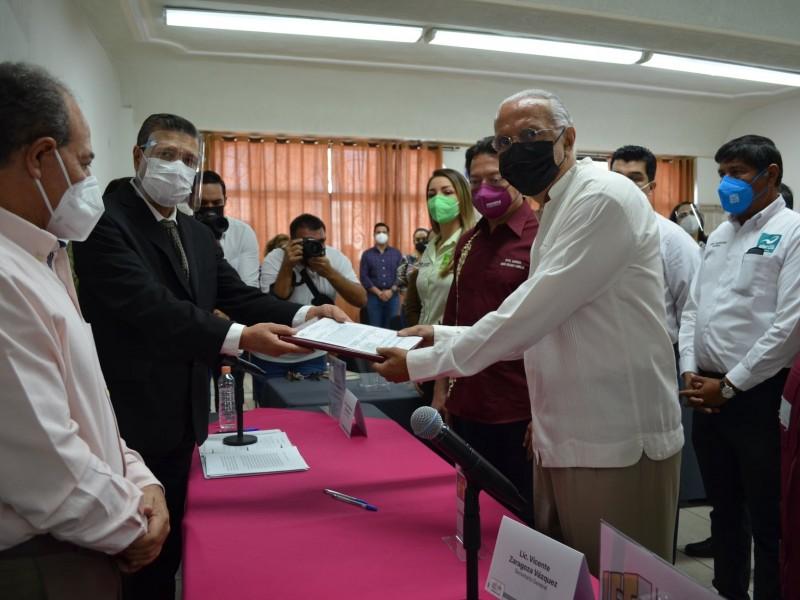 Coalición Juntos Haremos Historia por Nayarit, registra a su candidato