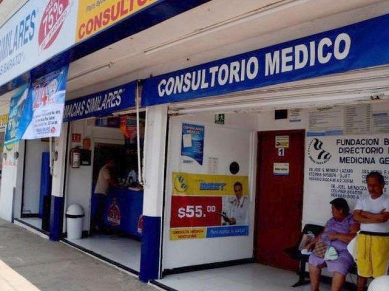 Coepris suspendió consultorios adyacentes a farmacias por incumplir normatividad