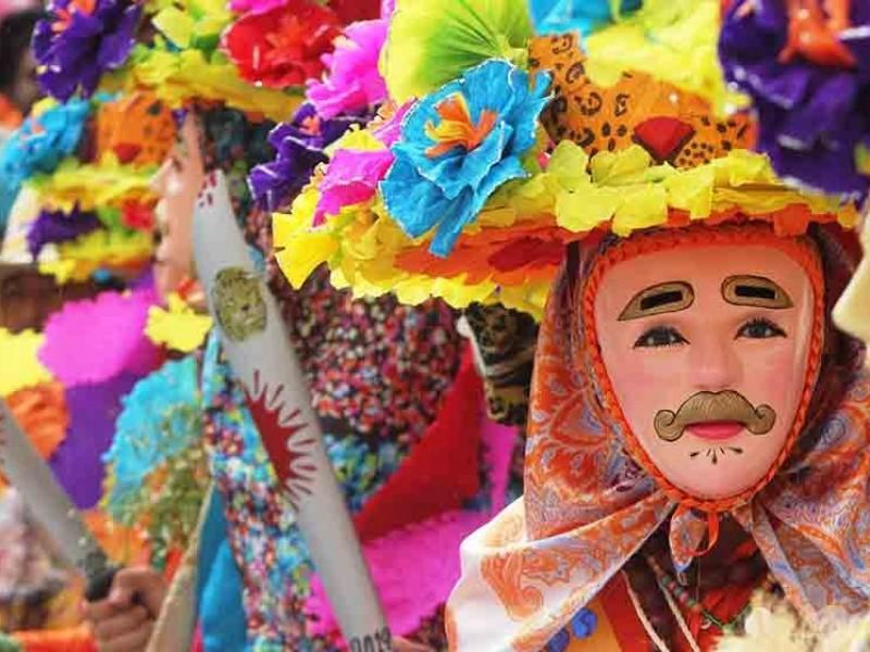 Cohuinás listos para carnaval Zoque