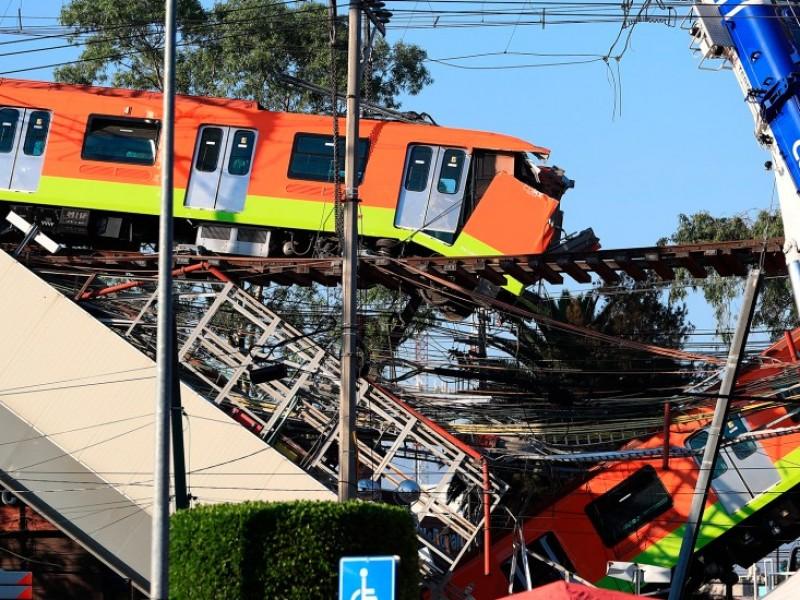 Colapso en L12 del Metro fue por falla estructural
