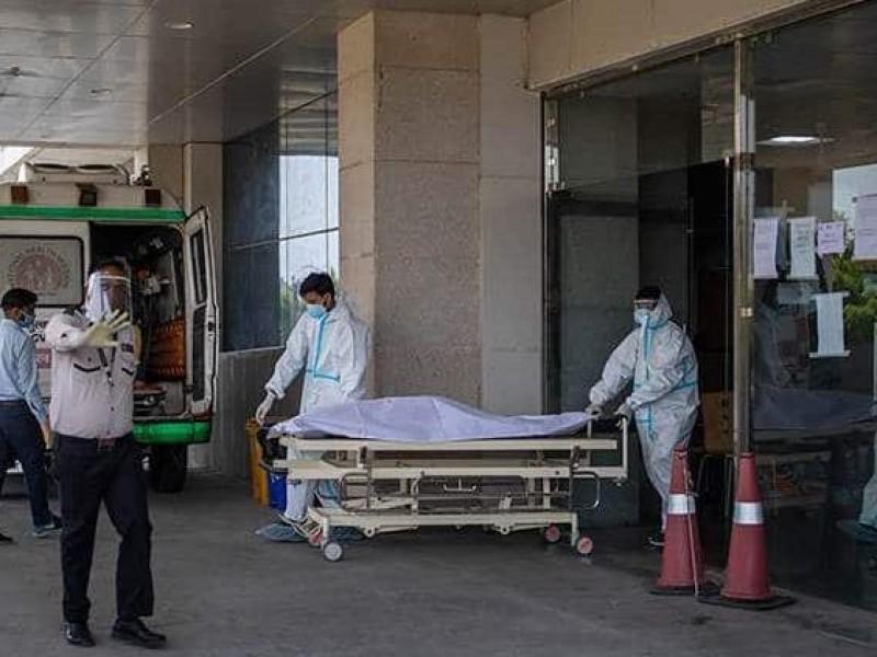 Colapso hospitalario en la India por Covid