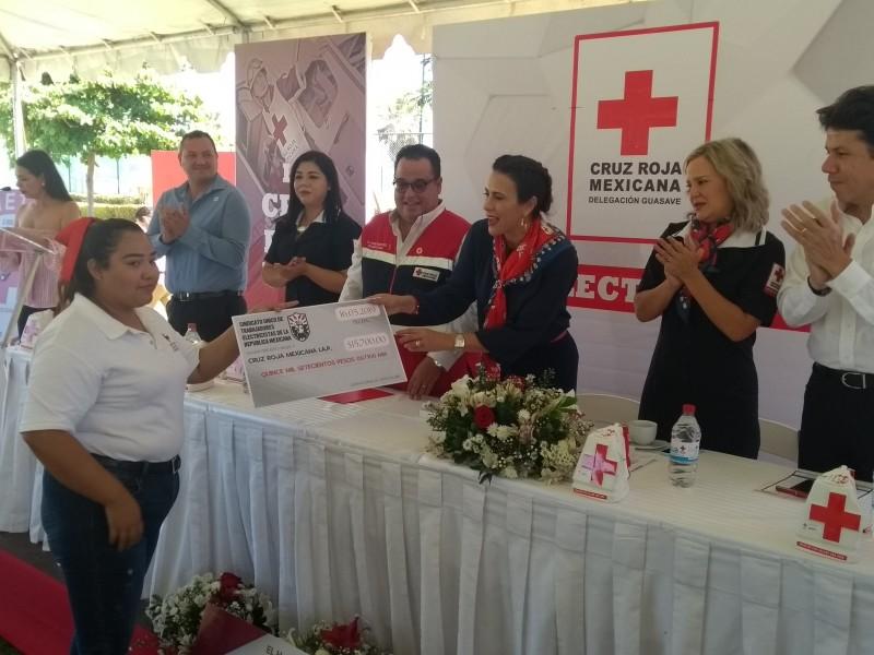 Colecta Cruz Roja tiene meta de 2 mdp