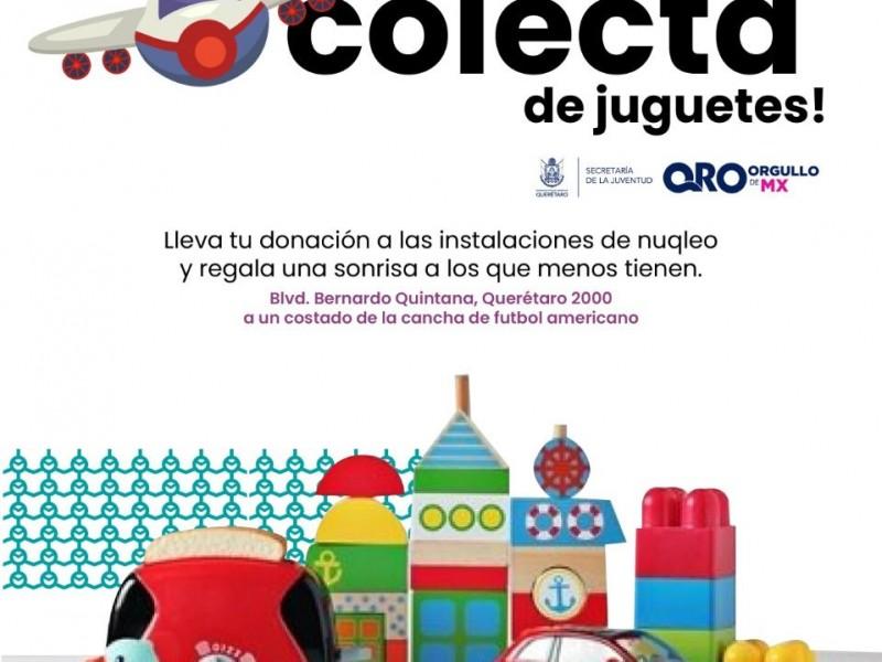 Colecta de juguetes de SEJUVE