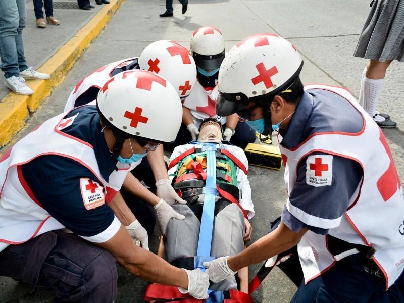 Colecta en beneficio de la Cruz Roja