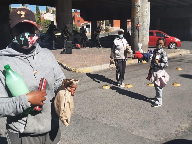 Colectiva Aquelarre Zacatecas apoya a grupos vulnerables