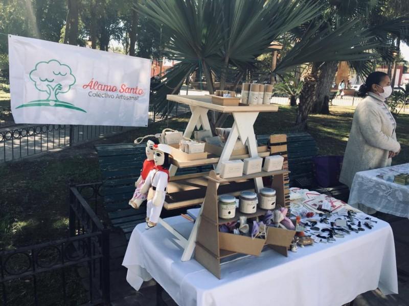 Colectivo Álamo Santo reúne emprendedores artesanales de la región