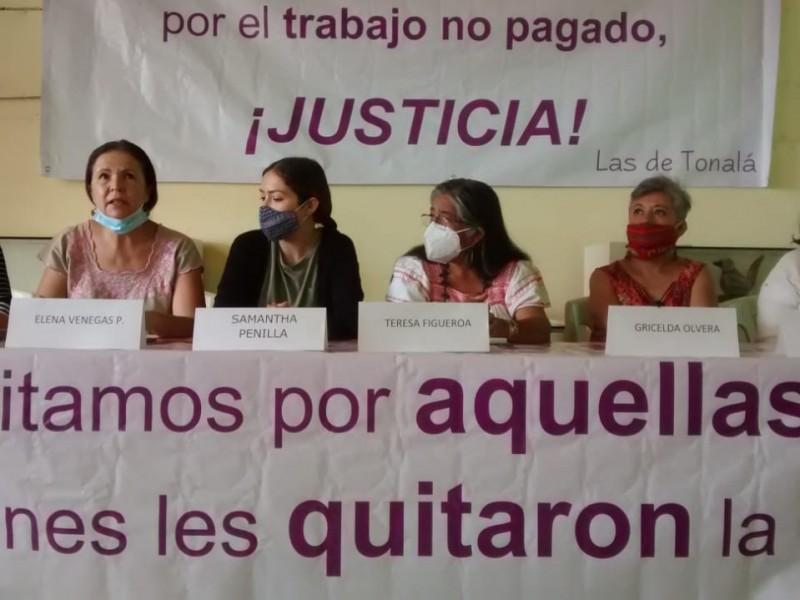 Colectivo Las de Tonalá prepara actividades para el 8M