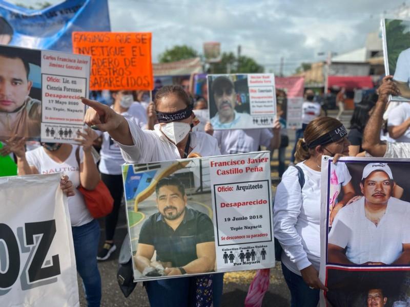 Colectivos de desaparecidos califican de omisa a Fiscalía Nayarit