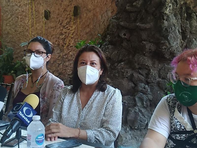 COLECTIVOS FEMINISTAS DENUNCIAN IRREGULARIDADES EN EL PARLAMENTO ABIERTO