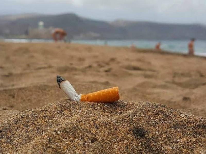 Colillas de cigarro, principal contaminante a nivel mundial