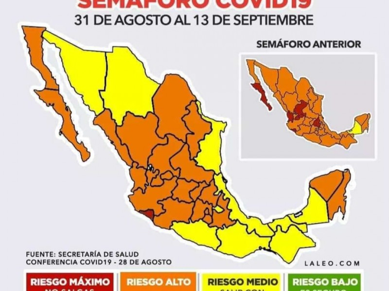 Colima, único estado con semáforo rojo. El estado lo justifica
