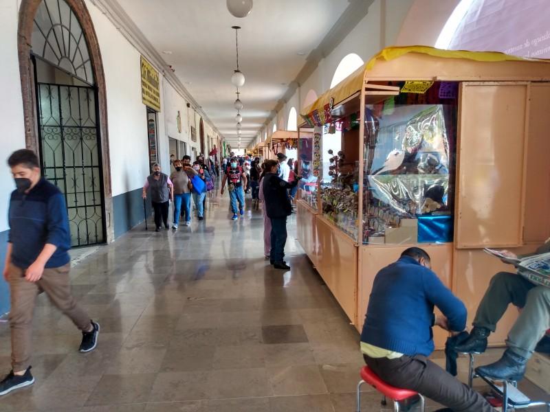 Colocan Feria del Alfeñique con restricciones por pandemia