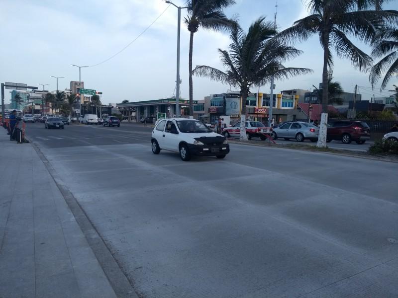 Colocan paso peatonal en bulevar y Bolívar