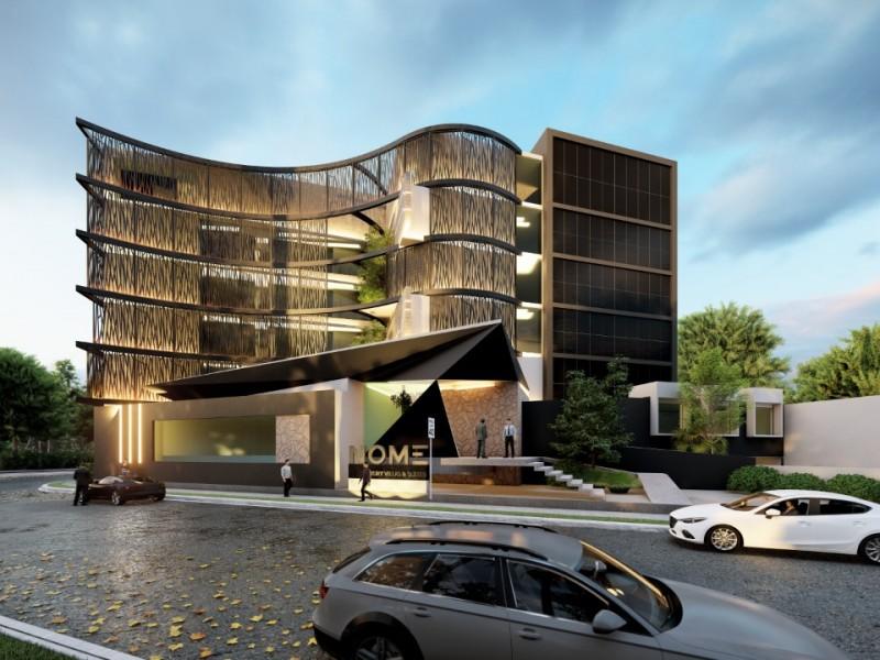 Colocan primera piedra de hotel en Corregidora