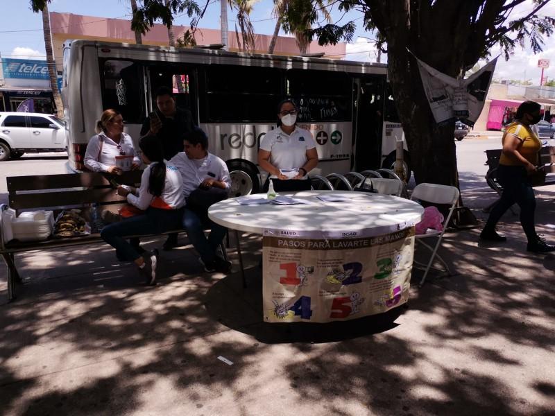 Colocan filtros sanitarios ante aumento de contagios en Ahome