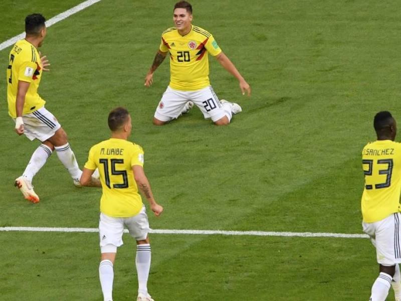 Colombia logra su pase a