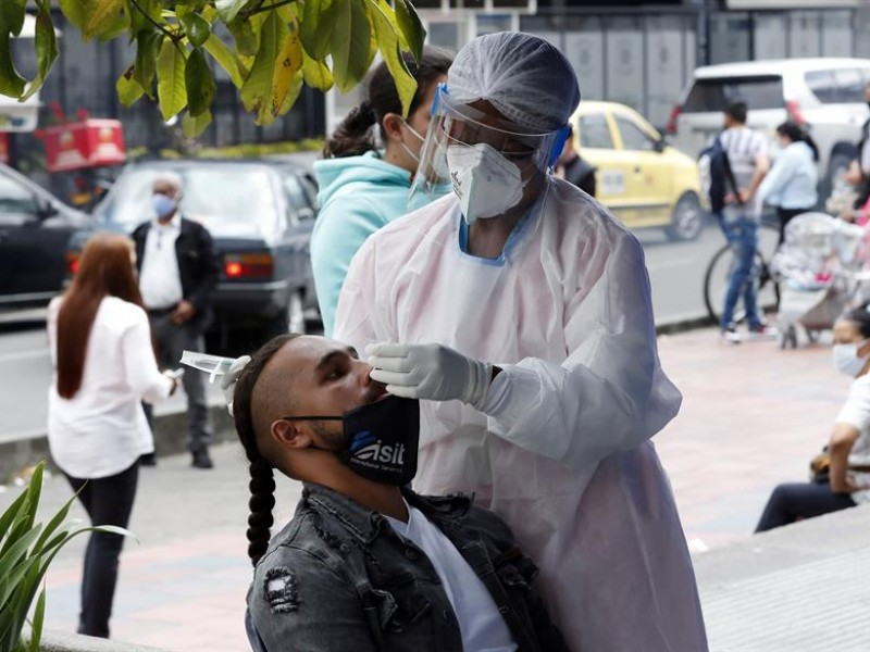 Colombia supera los dos millones de contagios de la covid-19