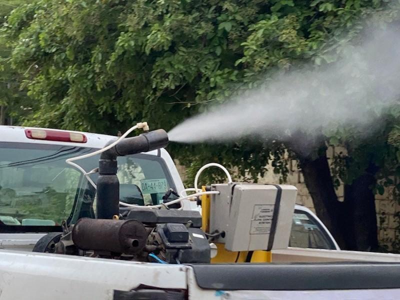 Colonia Emiliano Zapata exhibe falta de nebulización contra dengue