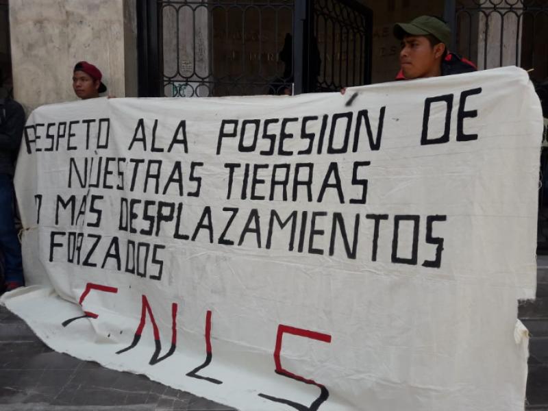 Colonia Ricardo Flores Magón pide tenencia de tierras
