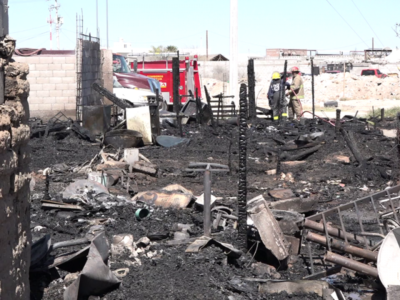 Colonias irregulares propicios para incendios