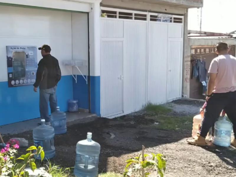 Colonias sin agua y no llegan las pipas