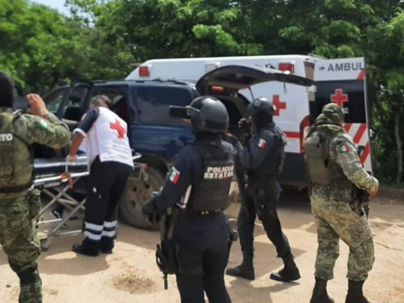 Comando armado ataca a la BOMU en Choix