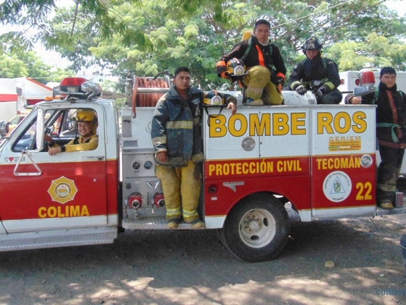 Combate a incendios depende de bomberos sin paga
