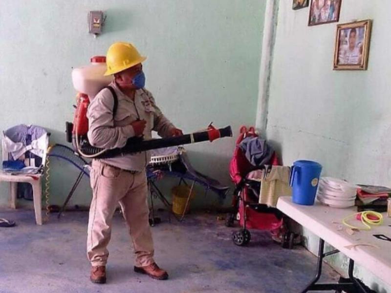 Combaten paludismo en la zona altos de Chiapas