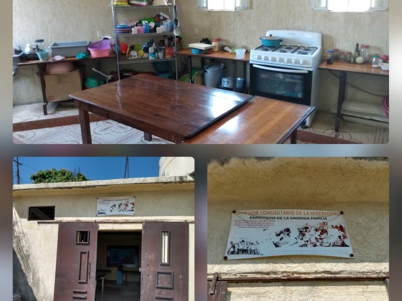 Comedores comunitarios de la misericordia, una ayuda para sectores vulnerables