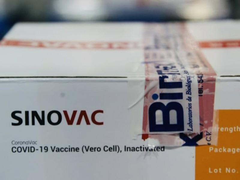 Comenzó distribución de 800 mil dosis de vacuna Sinovac