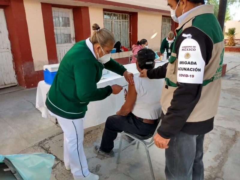 Comenzó la aplicación de vacunas Covid en Torreón