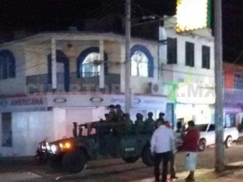 Comerciantes agreden a policías en Chiapas