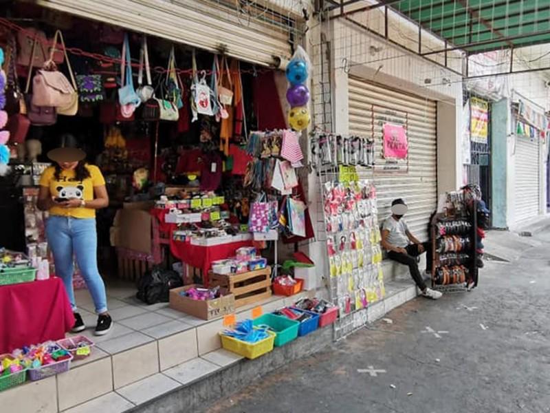 Comerciantes buscan activar economía local, reportan pérdidas del 70%