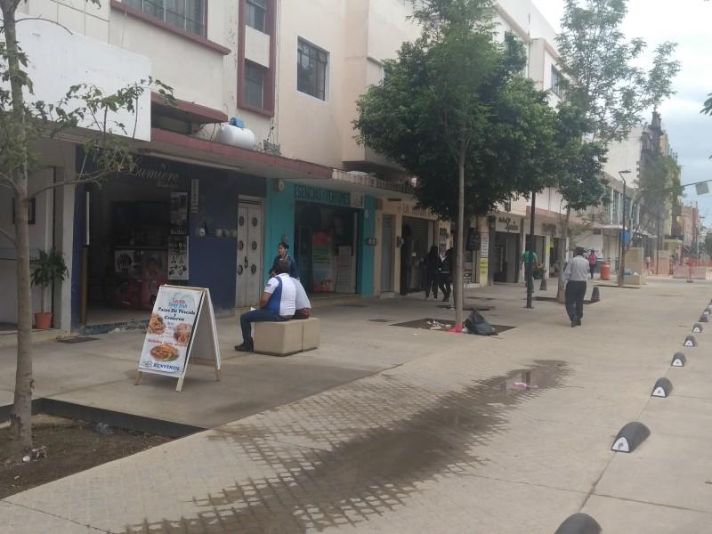 Comerciantes de Paseo Alcalde exigen más patrullajes