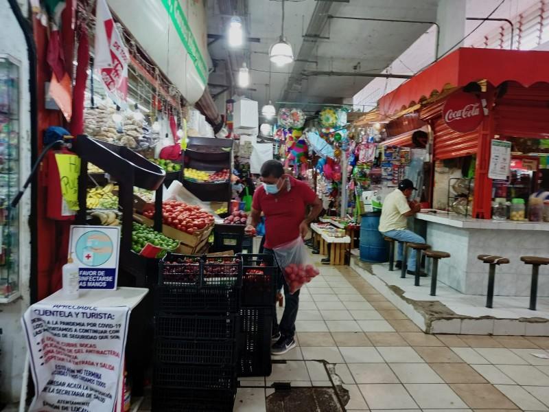 Comerciantes de Tuxpan con malas ventas todo el año