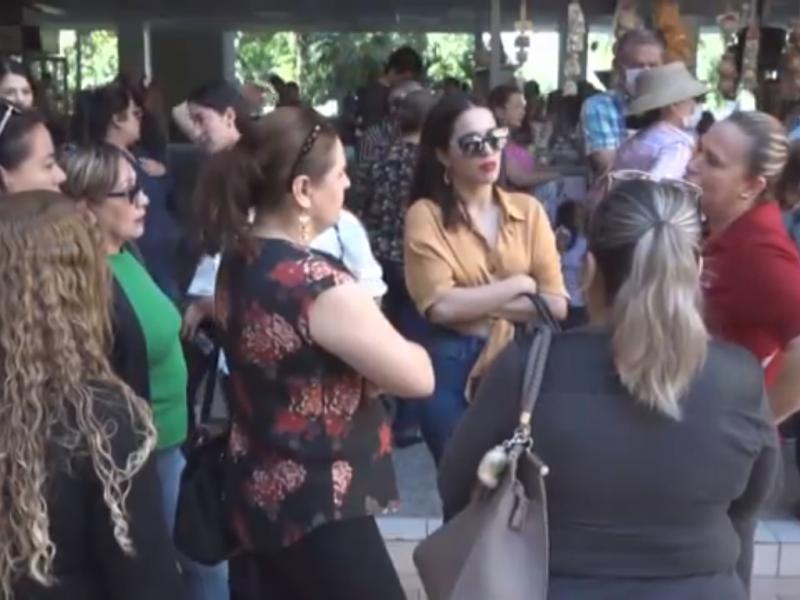 Comerciantes del centro de Culiacán se manifestaron