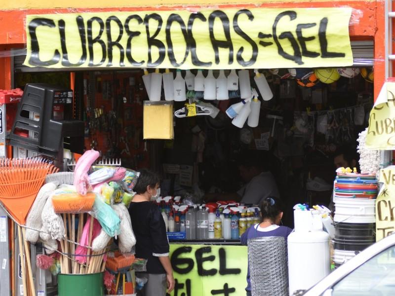 Comerciantes desesperados por reanudar actividades