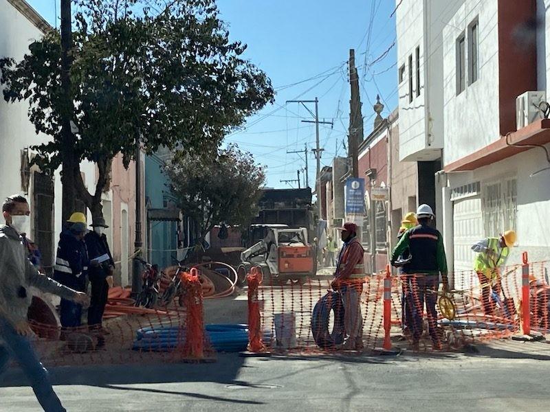 Comerciantes molestos tras obra en calle Zaragoza