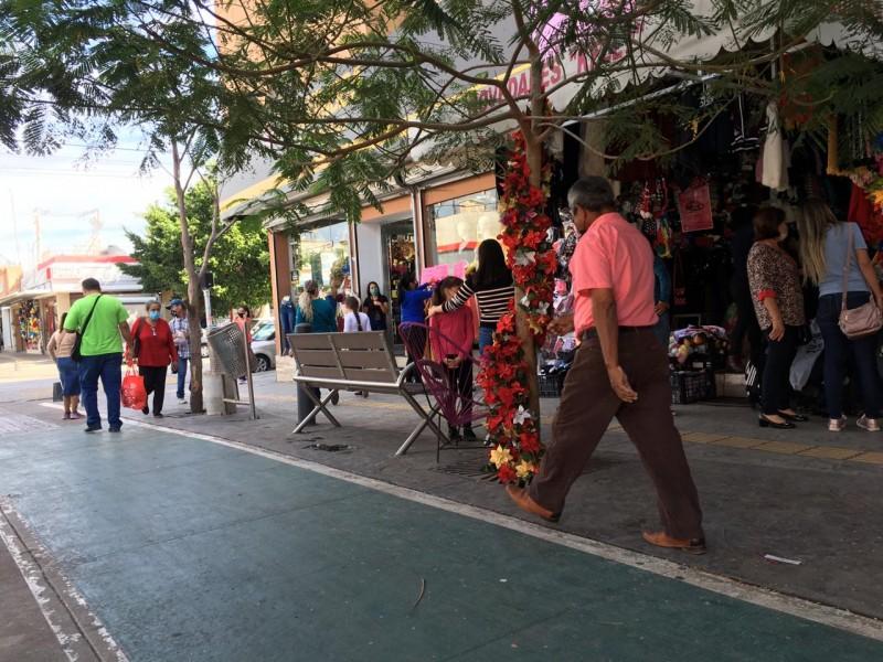 Comerciantes piden reforzar la seguridad en el centro