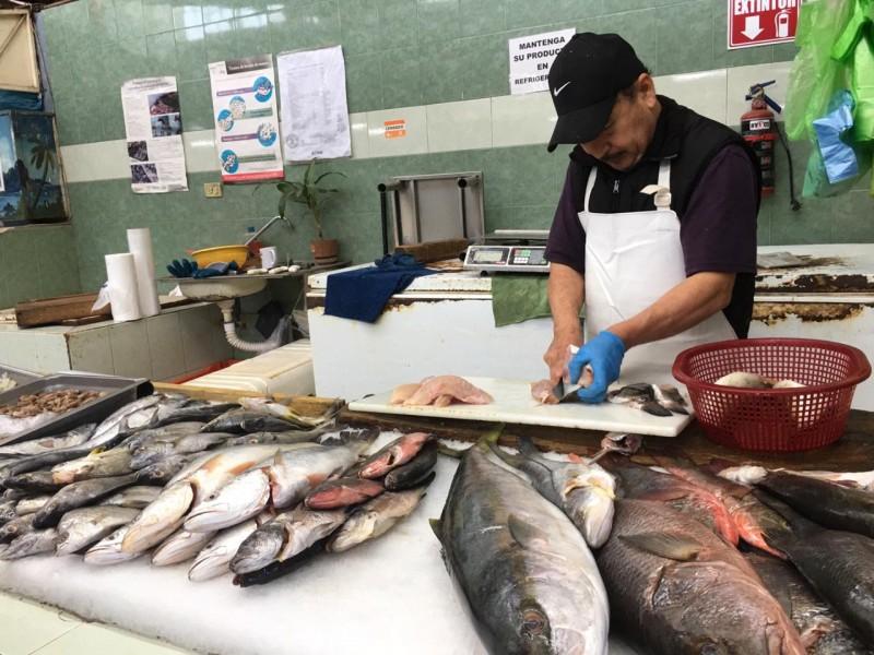 Comerciantes se preparan para el inicio de la cuaresma