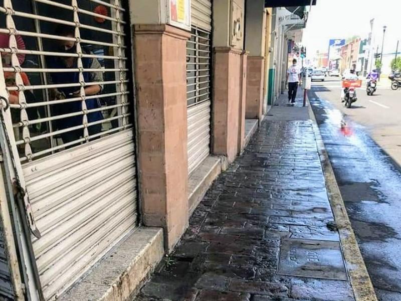 Comerciantes unifican criterios de atención durante contingencia sanitaria en Zamora