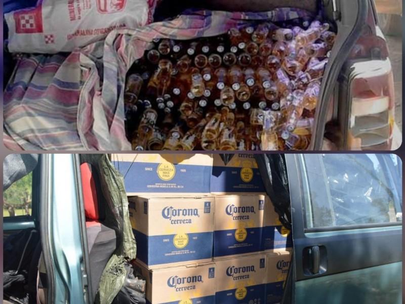 Comercio clandestino de cervezas incrementa por contingencia en Oaxaca