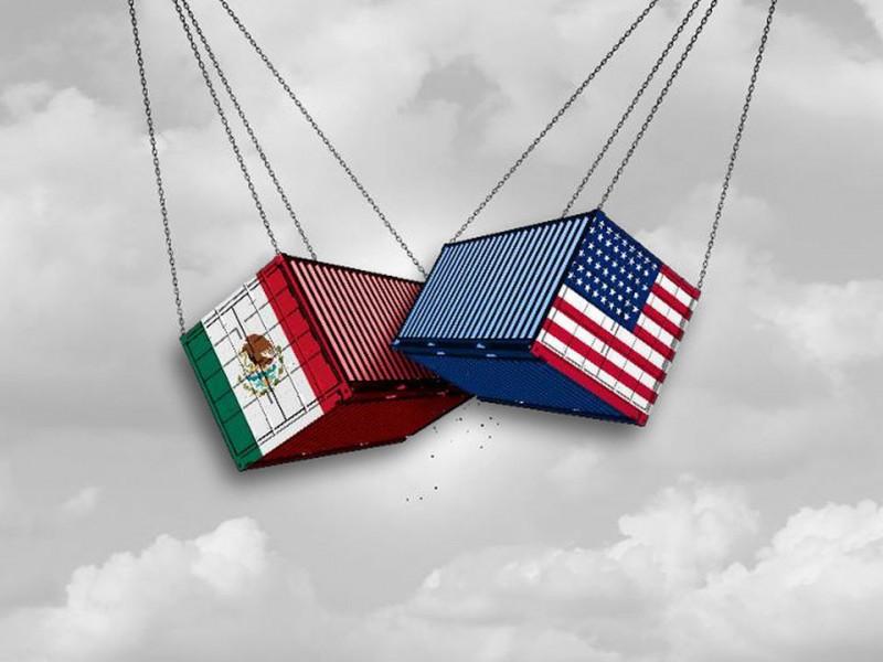 Comercio entre México y EE.UU cae un 21.3%
