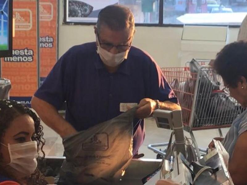 Comercios realizan protocolos ante Coronavirus en Veracruz