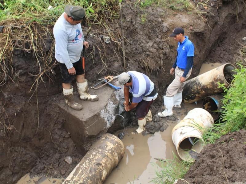 Comienza a restablecerse el servicio de agua en La Cantera