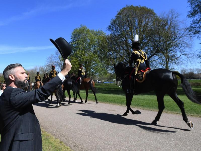 Así va el funeral por el duque de Edimburgo
