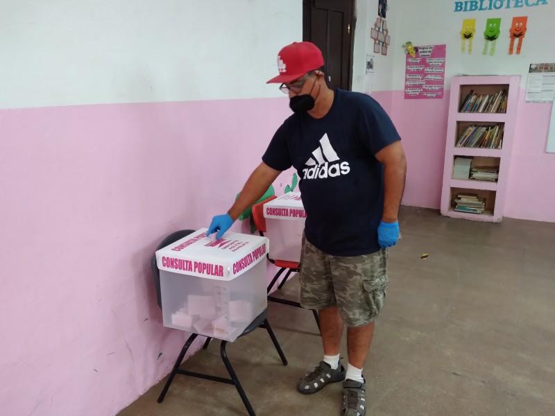 Comienza lenta la consulta popular en Navojoa