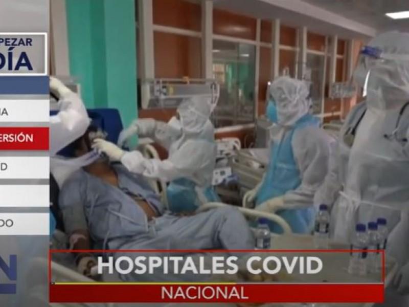 Comienza reconversión hospitalaria por crisis de Covid-19 en México