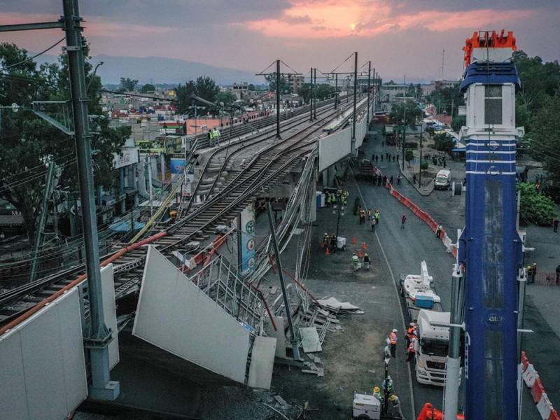 Comienza revisión de daños en la Linea 12 del Metro