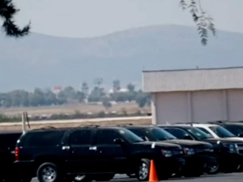 Comienza subasta de vehículos oficiales del gobierno federal